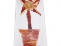 Corte de jamón (flor)