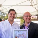 Entrega de Diploma concurso Ciudad de Sevilla